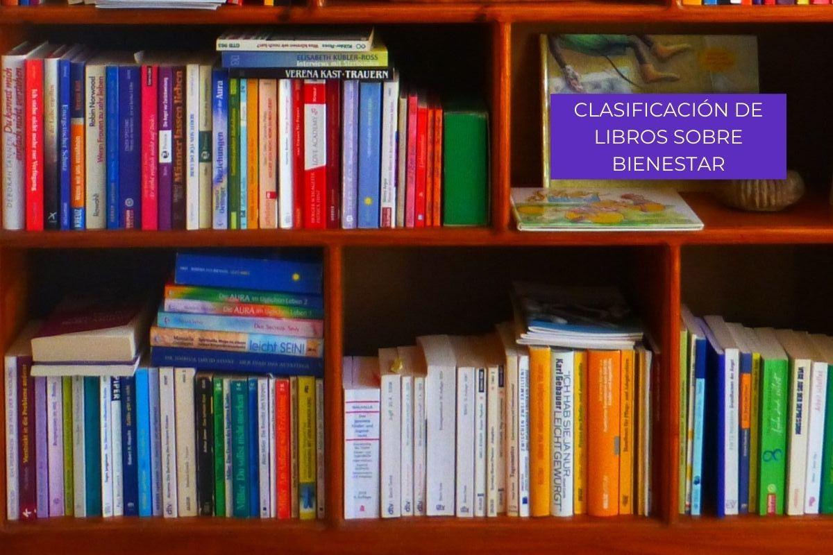 Clasificación de libros sobre bienestar