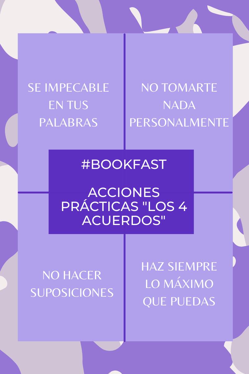 """Ideas prácticas del libro """"Los 4 acuerdos"""""""